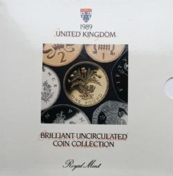1989 Brilliant Uncirculated Coin Collection for sale